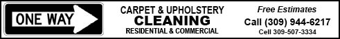 One Way Carpet & Upholstery Cleaning